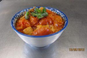 Vietnamese Tomato Soup Noodle