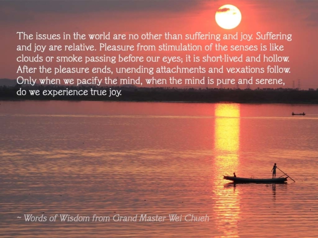 Words of Wisdom from Grand Master Wei Chueh 11