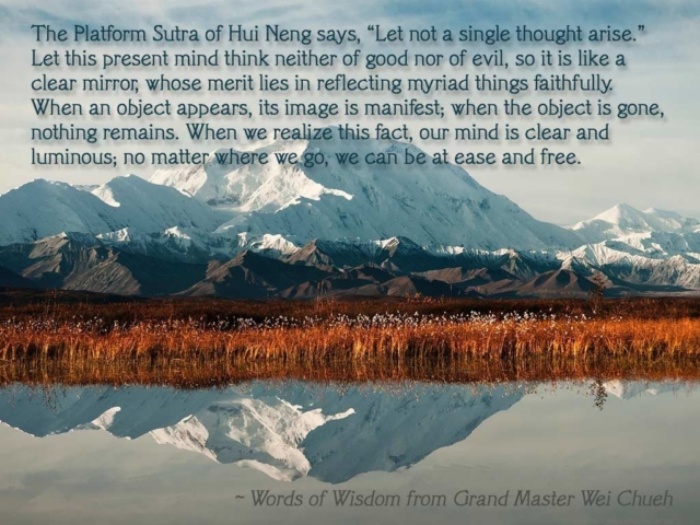 Words of Wisdom from Grand Master Wei Chueh 15