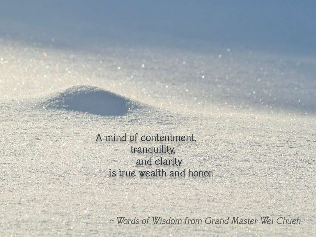Words of Wisdom from Grand Master Wei Chueh 25