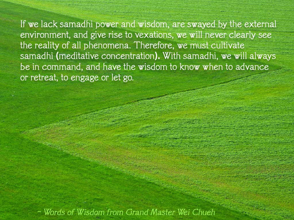 Words of Wisdom from Grand Master Wei Chueh 30