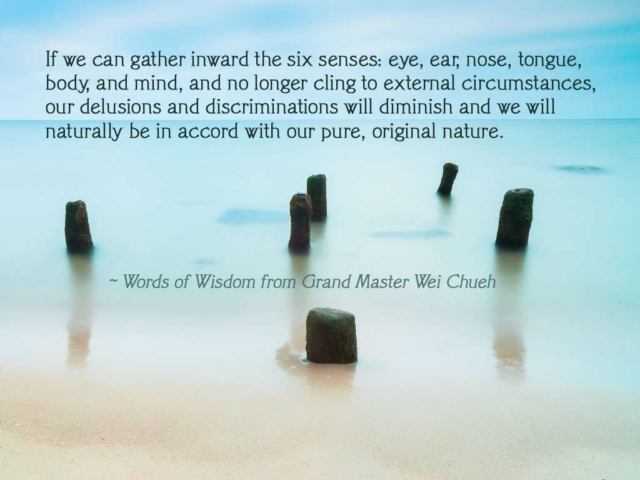 Words of Wisdom from Grand Master Wei Chueh 31