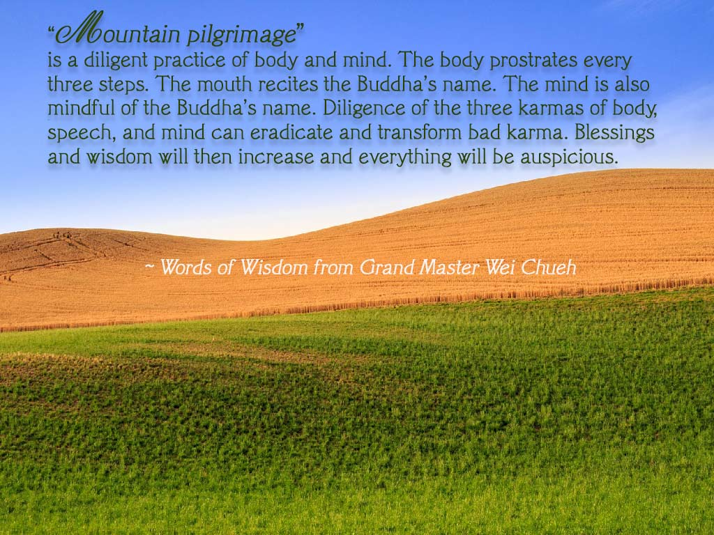 Words of Wisdom from Grand Master Wei Chueh 32